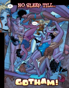 Harley Quinn and The Birds of Prey #1, anteprima 01