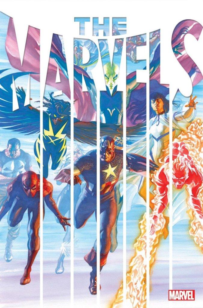 The Marvels #1, copertina di Alex Ross