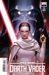 Darth Vader #2, copertina di E.M. Gist