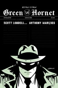 Green Hornet #1, copertina di Anthony Marques