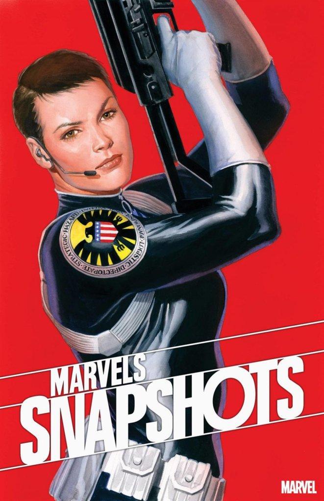 Marvels Snapshot: Civil War #1, copertina di Alex Ross