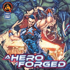 A Hero Forged, copertina di Brett Booth