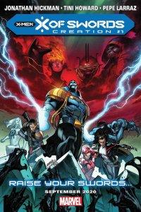 X of Swords Creation #1, immagine promozionale di Pepe Larraz
