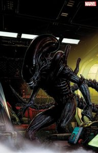 Alien #1, copertina di David Finch