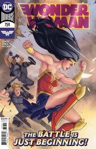 Wonder Woman #759, copertina di David Marquez