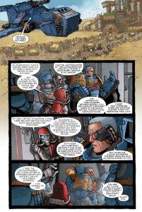 Warhammer 40,000: Marneus Calgar #1, anteprima 01