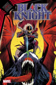 King in Black: Black Night #1, copertina di Dan Mora