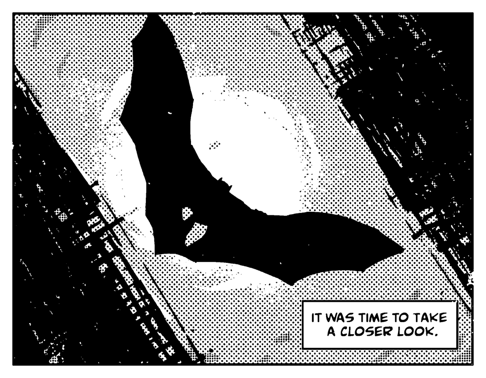 Batman: Black & White #2, anteprima 01