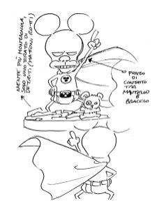Bozzetto aggiornato Rat-Man