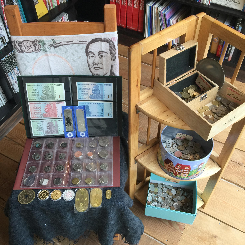 世界の貨幣フェアがはじまりました!