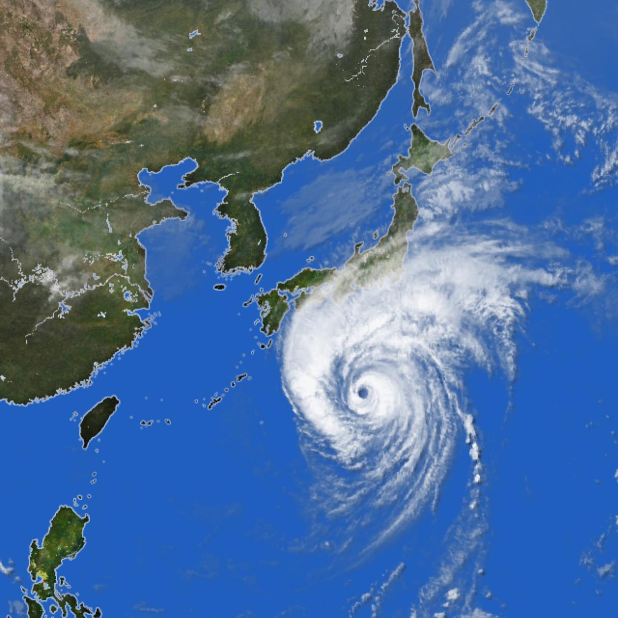 10月12日(土)颱風中前後の営業につきまして(終了)