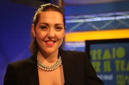 Lucia Renati alla conduzione del TG
