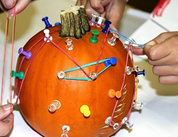 Hands-On Pumpkin Math - The Geo Pumpkin!