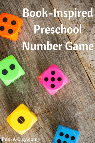 Ducklings Preschool Number Game   Fun A Day  Book Inspired Preschool Number Game