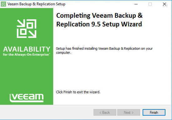 Установка Veeam Backup&Replication.
