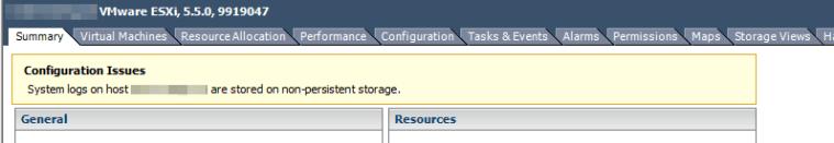 non persistent storage