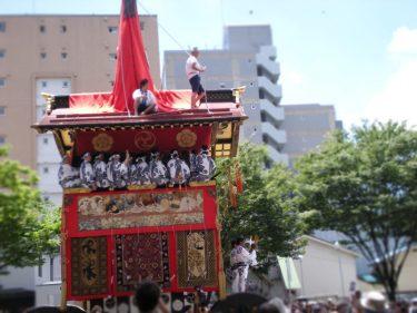 京都祇園祭の山鉾巡行時間とルートを紹介!見学は女人禁制??