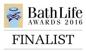 Finalist in the Bath Life Awards 2016