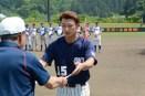 市長杯大会Aクラス優秀選手の渡辺優太郎選手