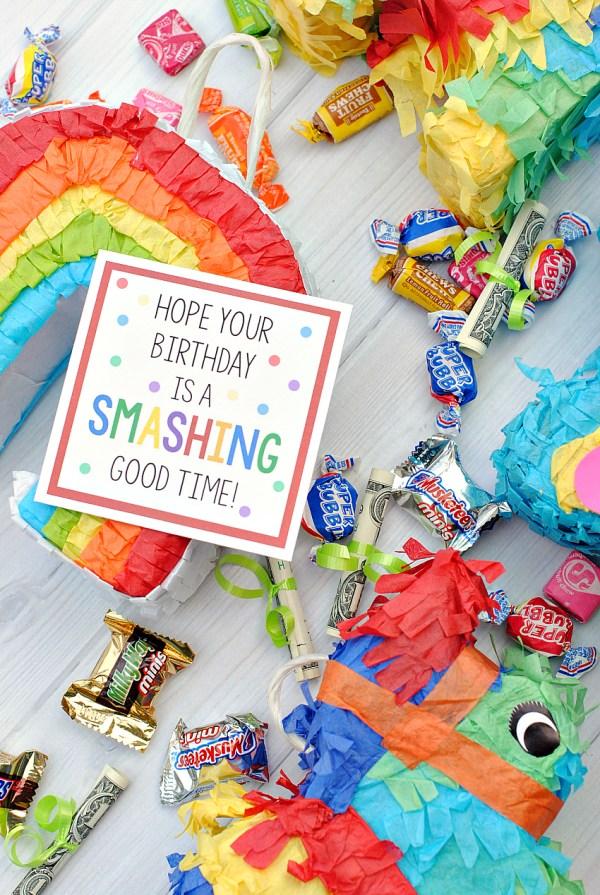 Cute Mini Piñata Birthday Gift Idea for Friends