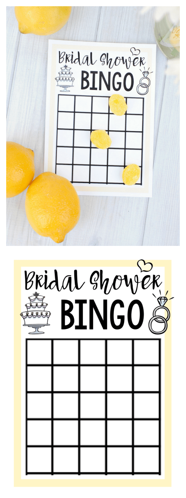 Dramatic image for printable bridal bingo