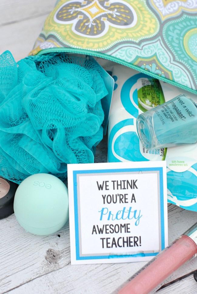 Pretty Awesome Creative Teacher Gift Idea