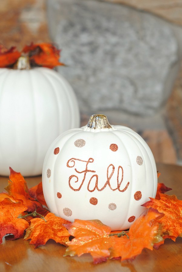 Fall Pumpkin Decorations