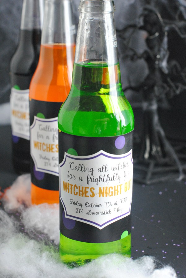 WitchesNightOutInvitations
