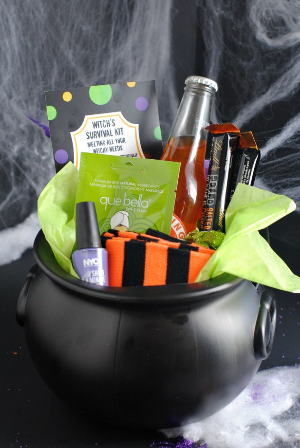 Witch's Survival Kit-Cute Halloween Gift for a Friend