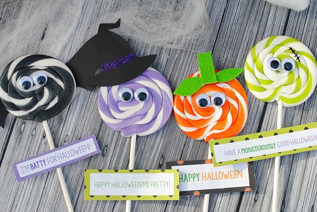 Halloween Suckers for Kids