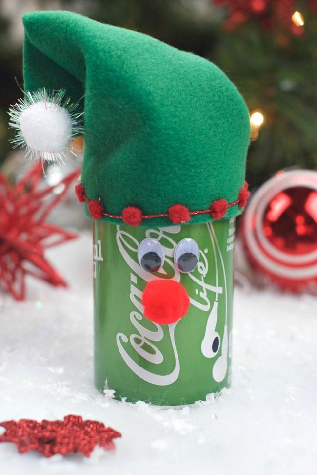 Elf Coke Christmas Gift