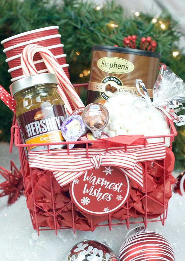 Hot Chocolate Gift Basket