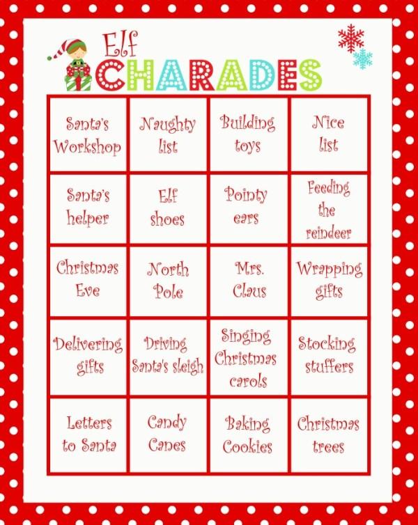 elf-charades