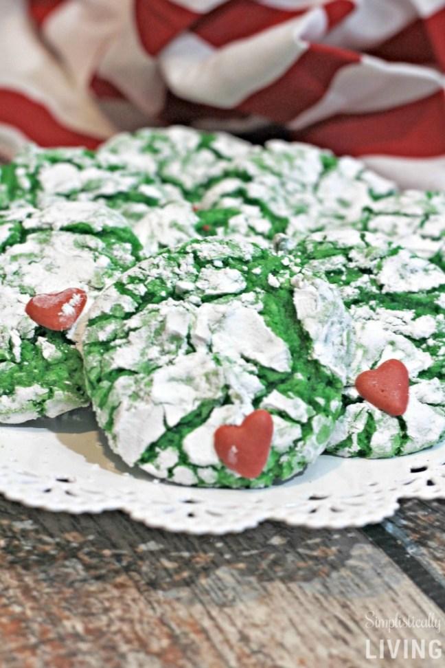 Cute Grinch Cookies