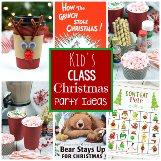 Kid's School Christmas Party Ideas