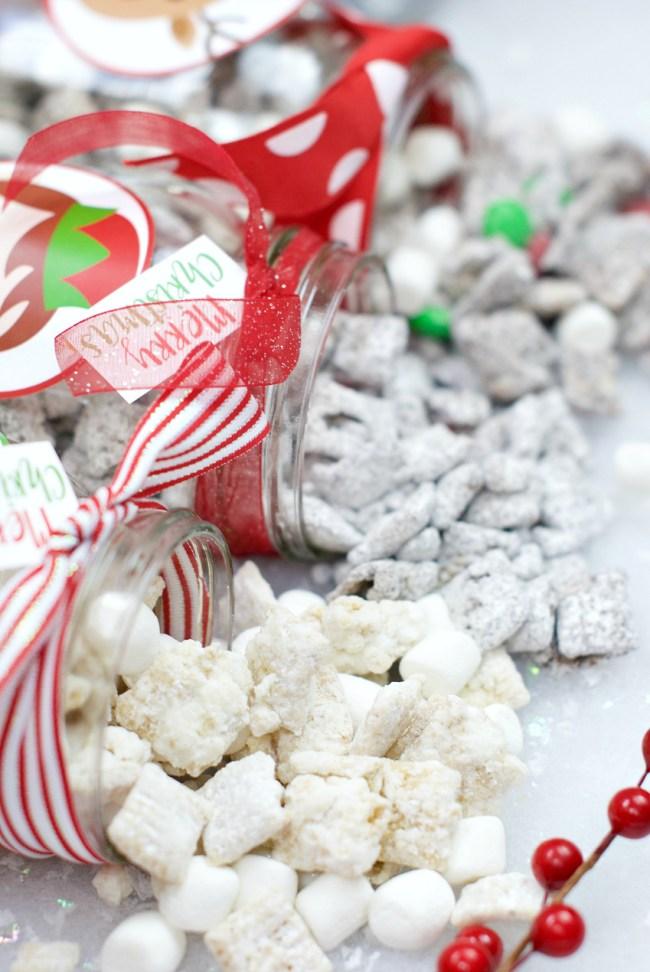 Christmas Muddy Buddies Recipe