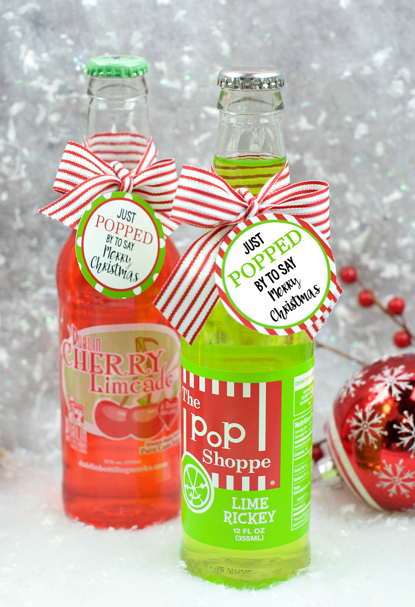 Pop Christmas Gift Idea For Friends Or Neighbors Fun Squared