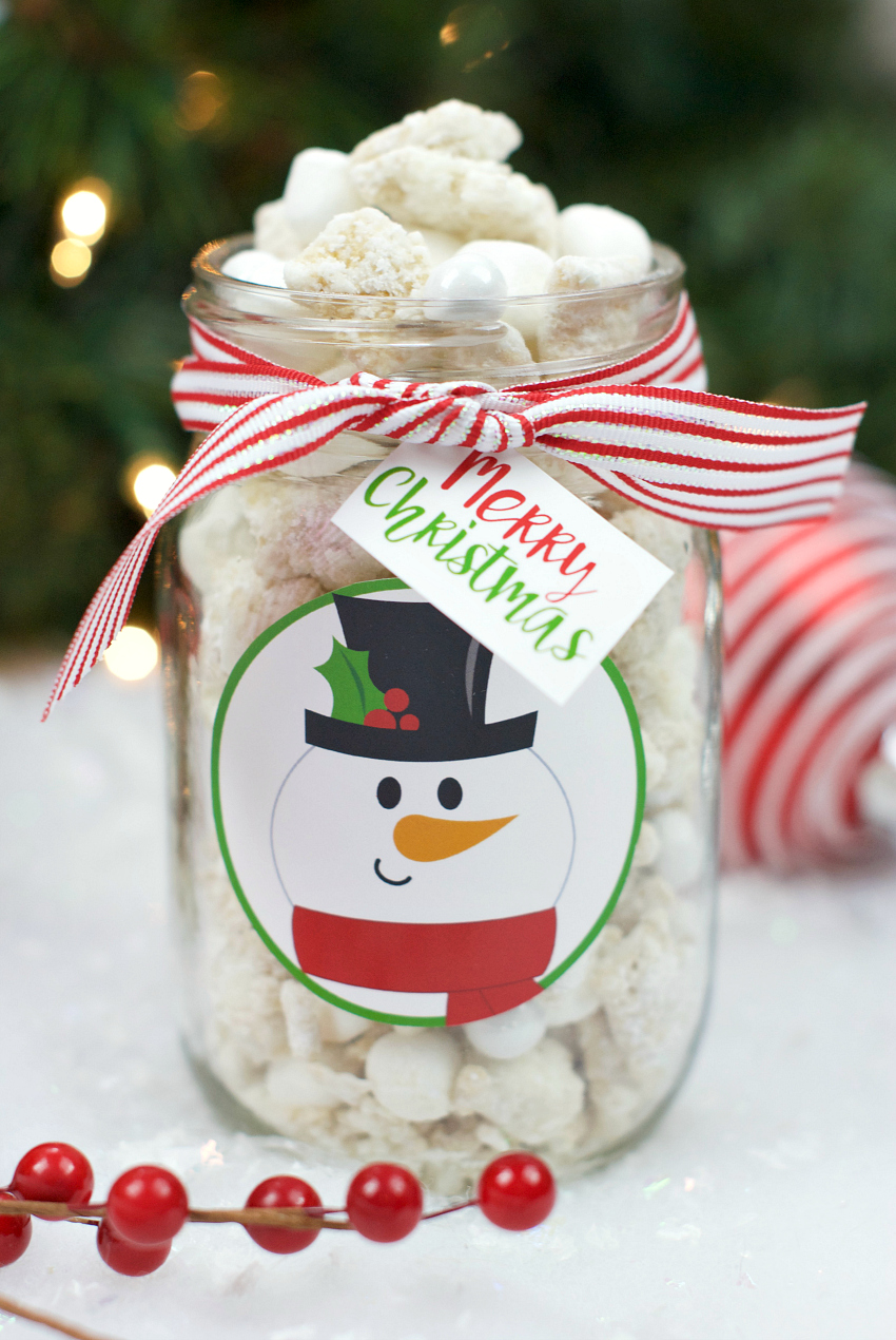 Christmas Puppy Chow.Christmas Puppy Chow Recipe Gift Fun Squared