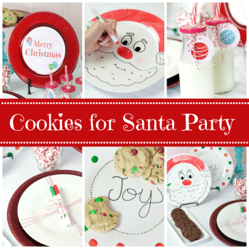 Cookies for Santa Fun Christmas Party for Kids