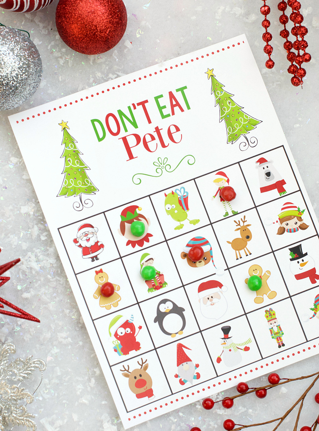 Christmas Don't Eat Pete Game