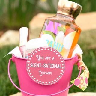 Scentsational Teacher Gift Idea