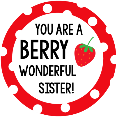 Berry Sister Tag