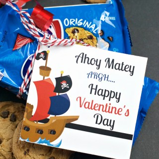 Chips Ahoy School Valentine Ideas