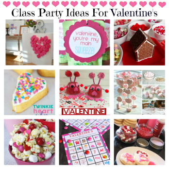 Class Party Ideas for Valentines