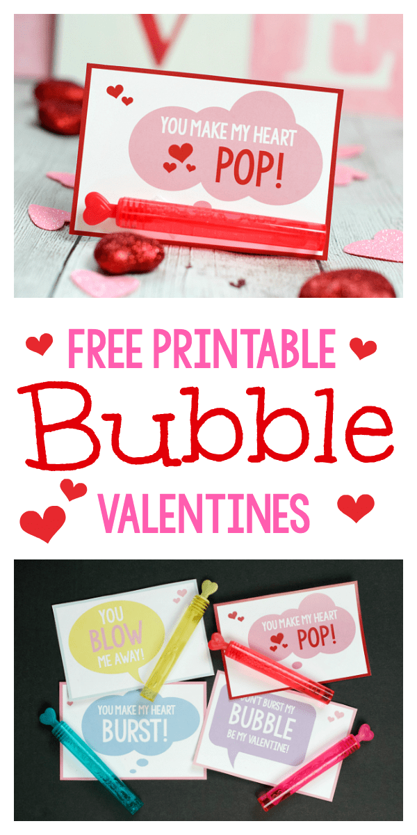 picture regarding You Make My Heart Pop Valentine Printable titled Bubbles Higher education Valentine Strategies: By yourself Create My Middle Pop Pleasurable