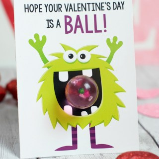 Monster Themed Kids Valentines