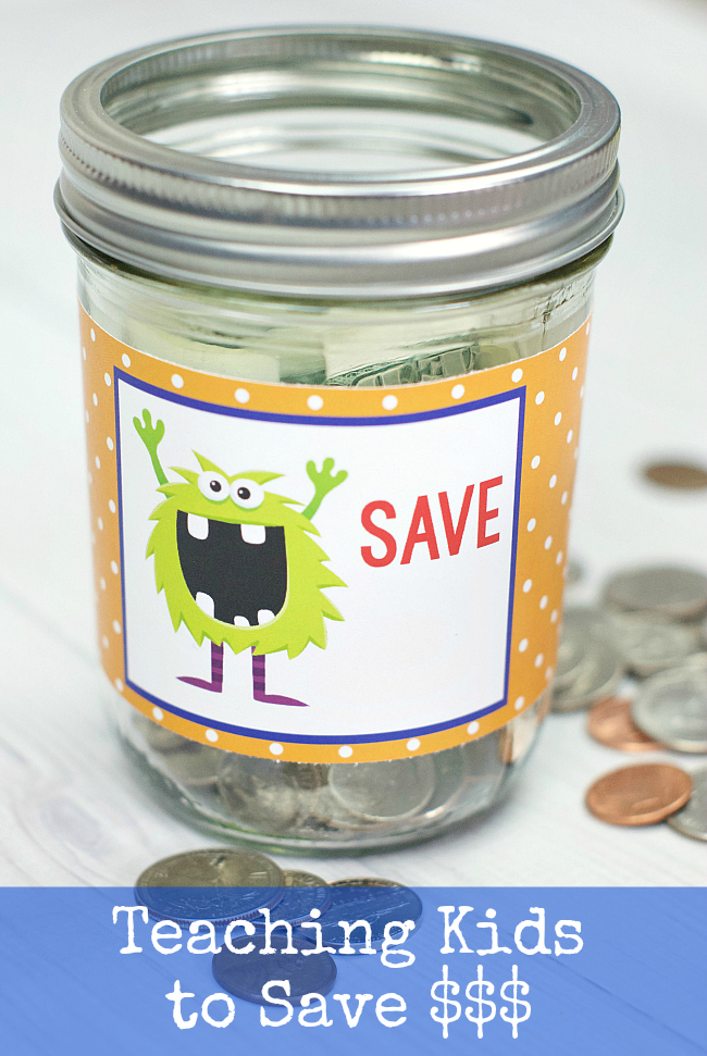 Teaching Kids to Save Money-5 Great Tips