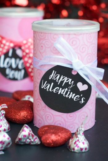 Valentine's Pringles Can Gifts