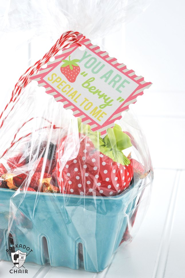 Strawberry Gift Basket