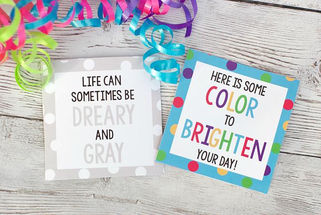 Cheer Up Gift Tags